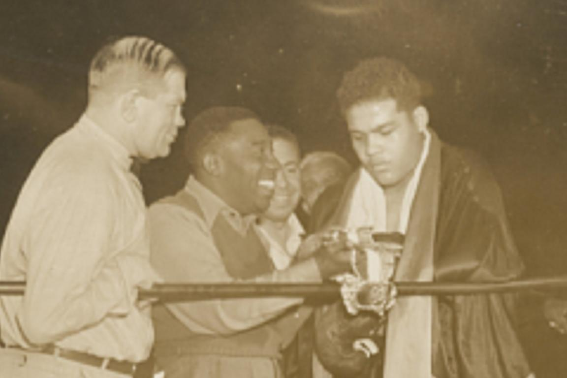 Joe Louis   National Museum of African American History and