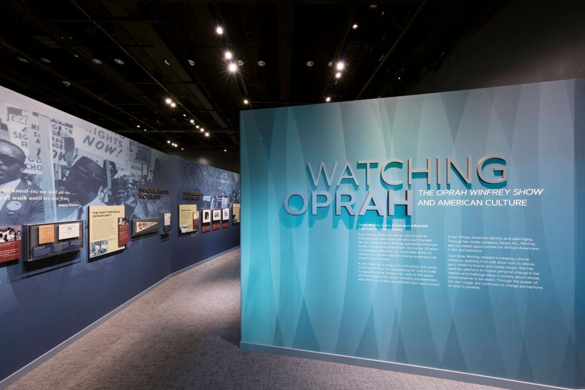 #WatchingOprah Exhibition Opens at the National Museum of African American  History and Culture