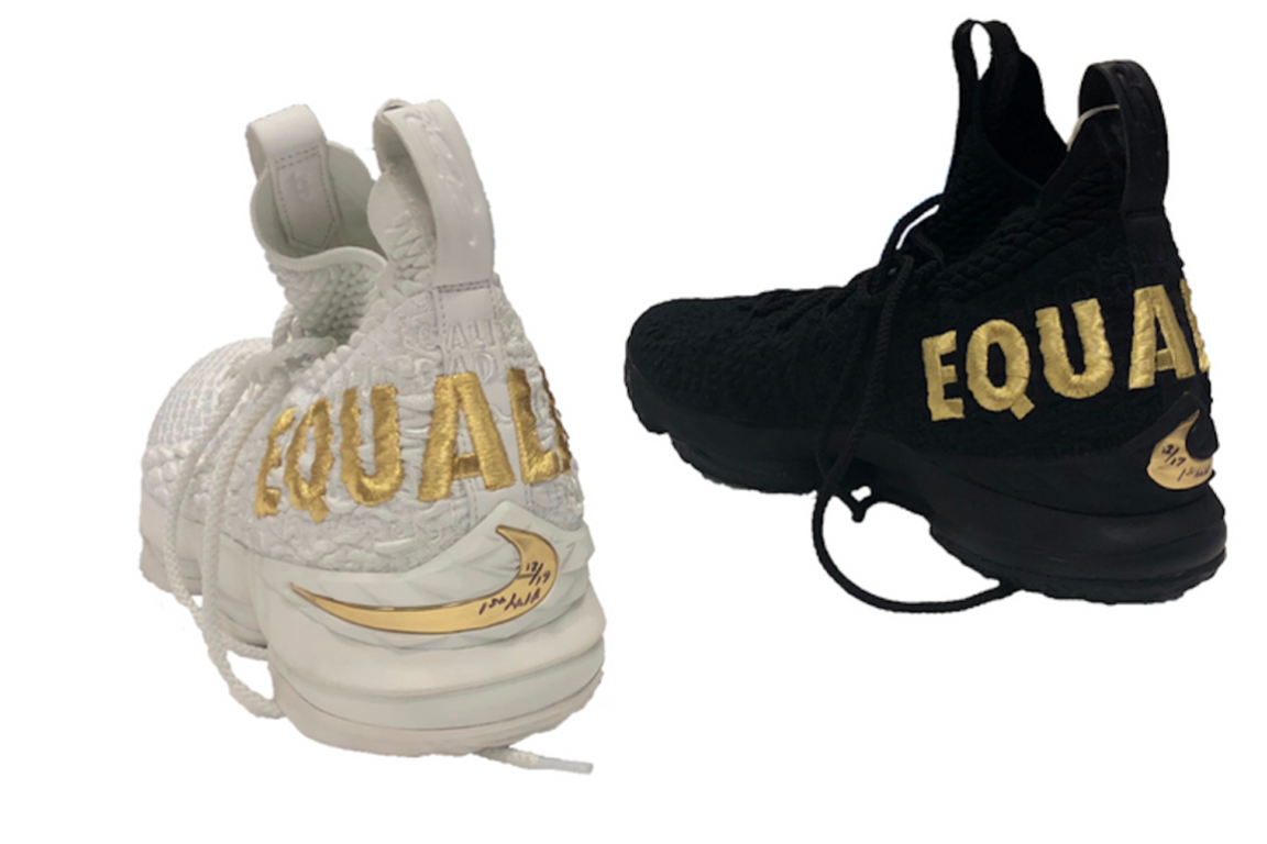 4ba8c45bbcb LeBron James Donates Equality Sneakers