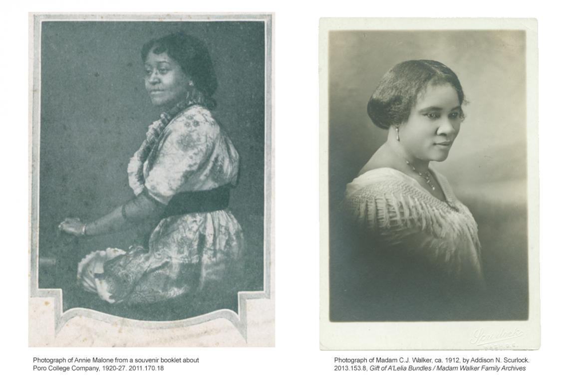 Annie Malone And Madam C J Walker Pioneers Of The African American Beauty Industry National Museum Of African American History And Culture