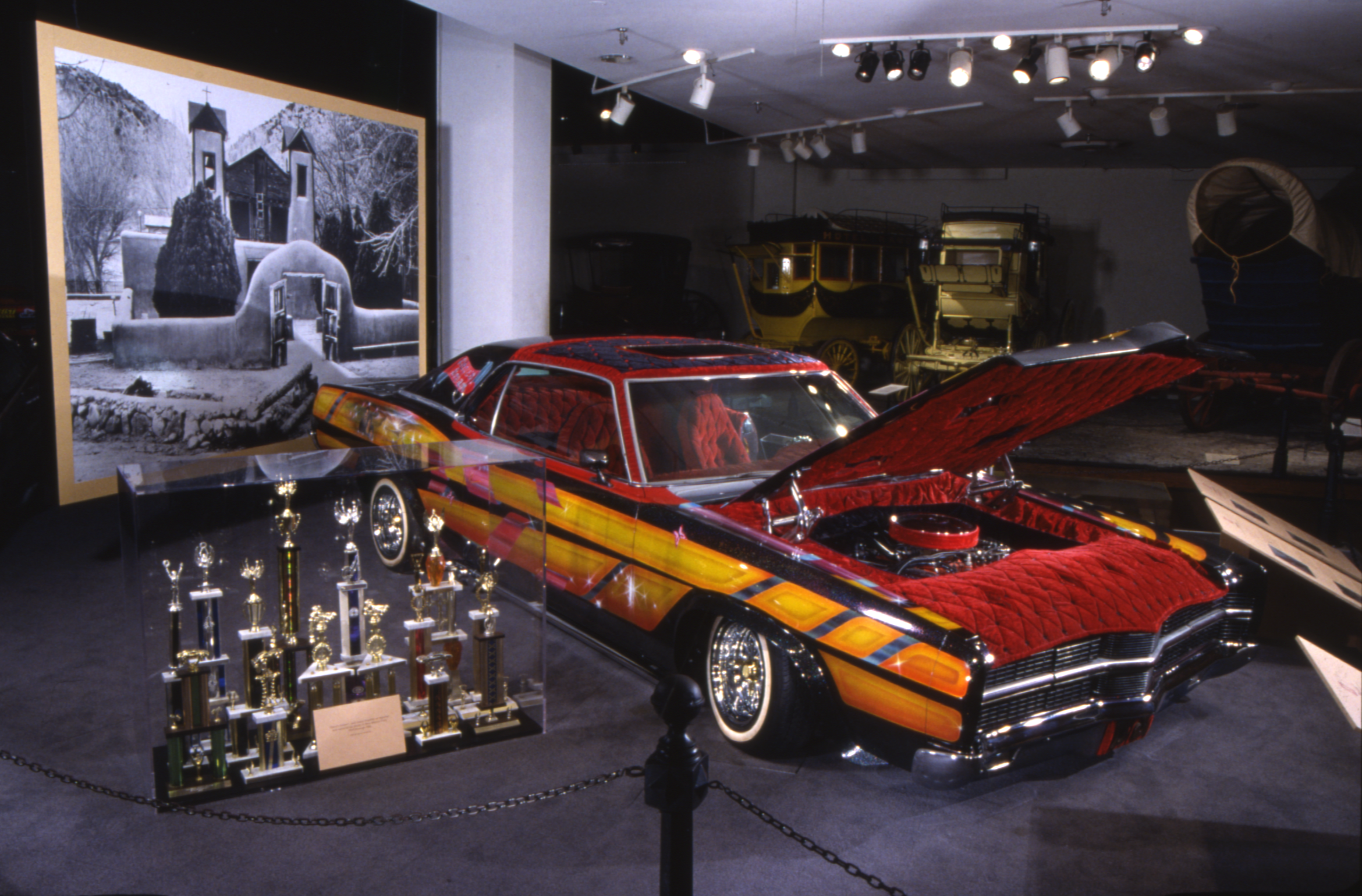 Lowriders National Museum Of African American History And Culture - Car show display props