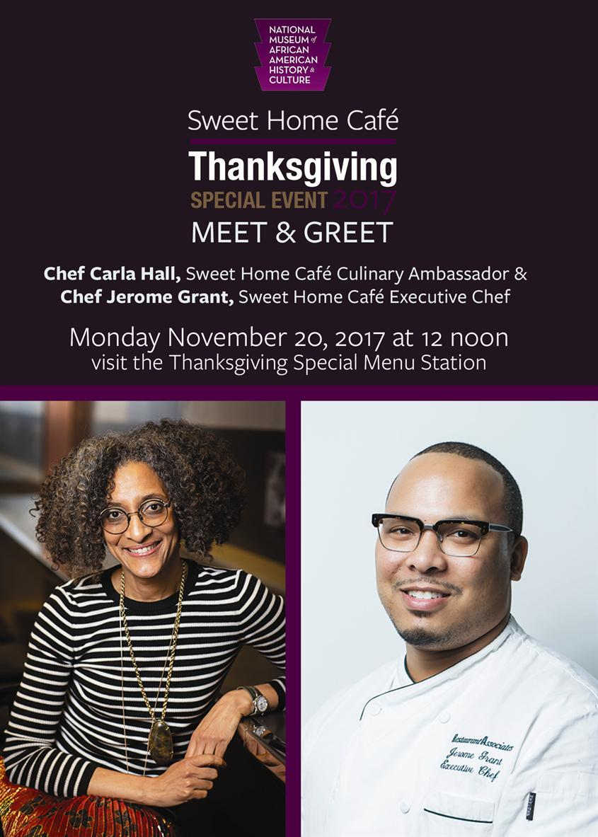 Meet & Greet: Chef Carla Hall & Chef Jerome Grant