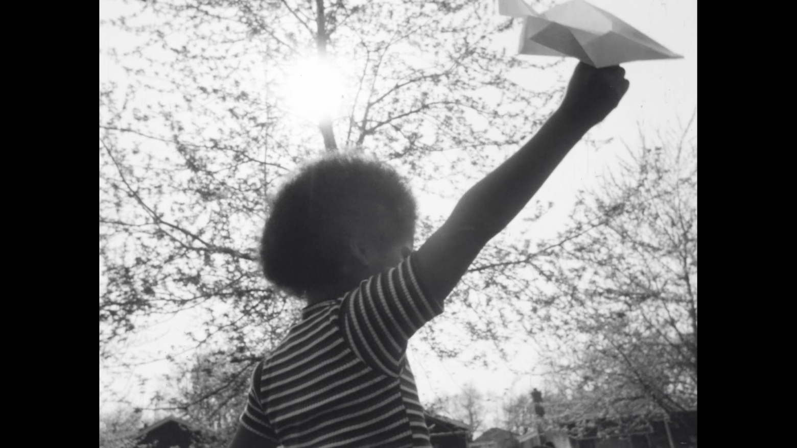 Still from Aerial (1975) directed by Zora Lathan
