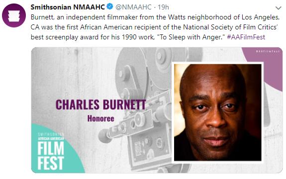 Film Festival Honoree Charles Burnett
