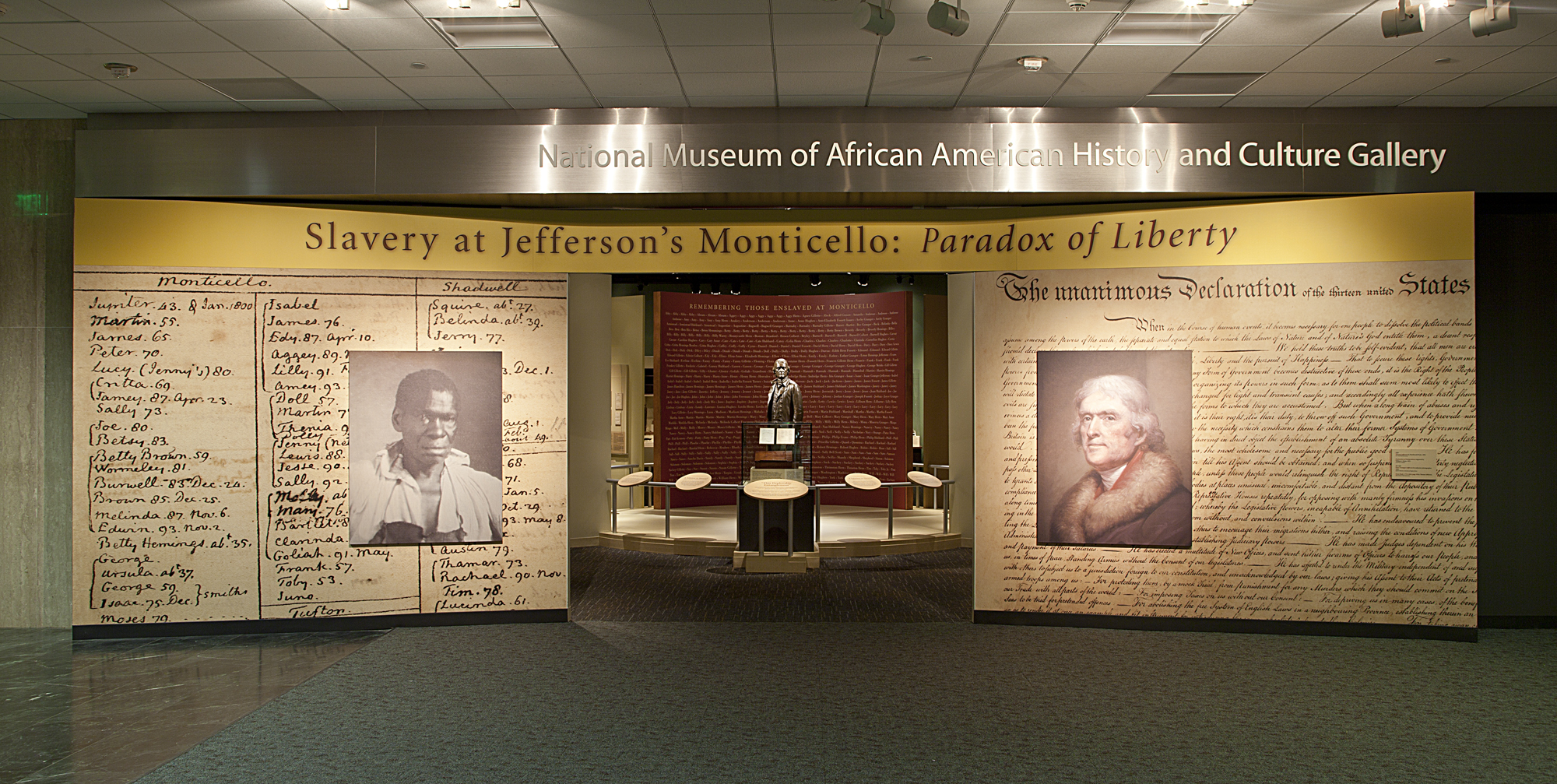 Image of a highlight gallery at the national museum of American history