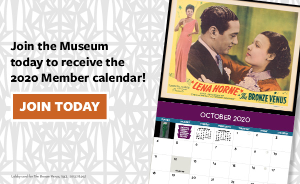 Join the Museum today to receive the 2020 Member Calendar